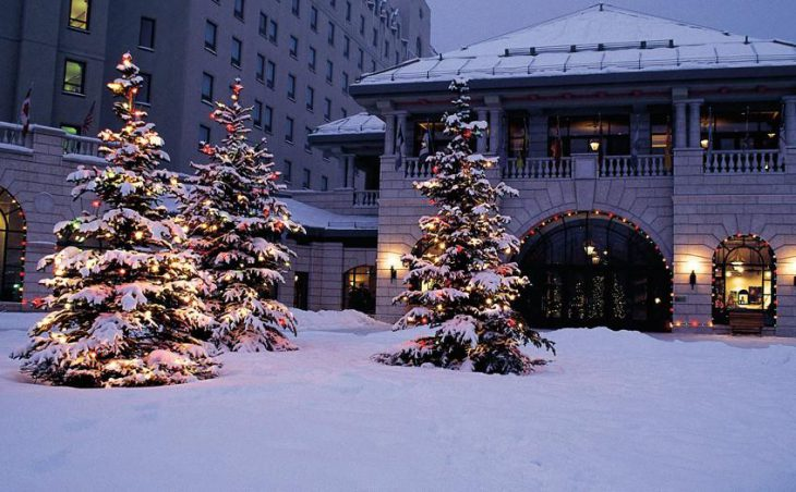 Fairmont Chateau Lake Louise, Lake Louise, External 2