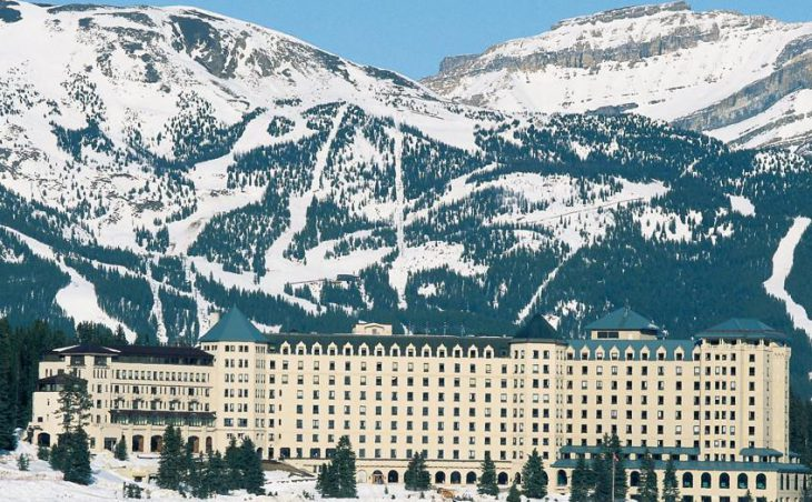 Fairmont Chateau Lake Louise, Lake Louise, External 3