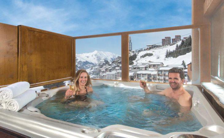 Chalet Faucon, Les Menuires, Hot Tub