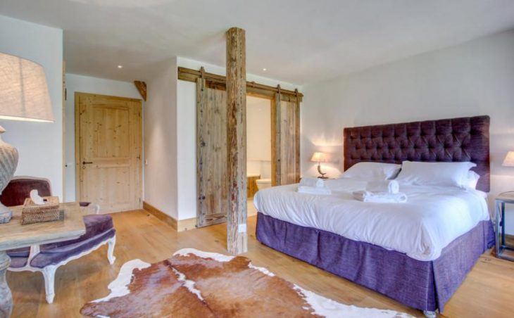 Ferme St Christophe, Samoens, Double Bedroom