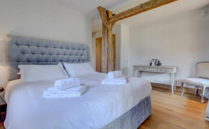 Ferme St Christophe, Samoens, Bedroom