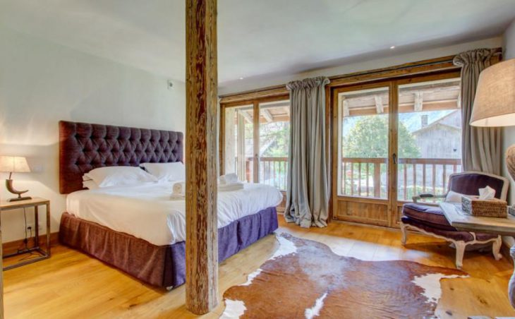 Ferme St Christophe, Samoens, Double Room
