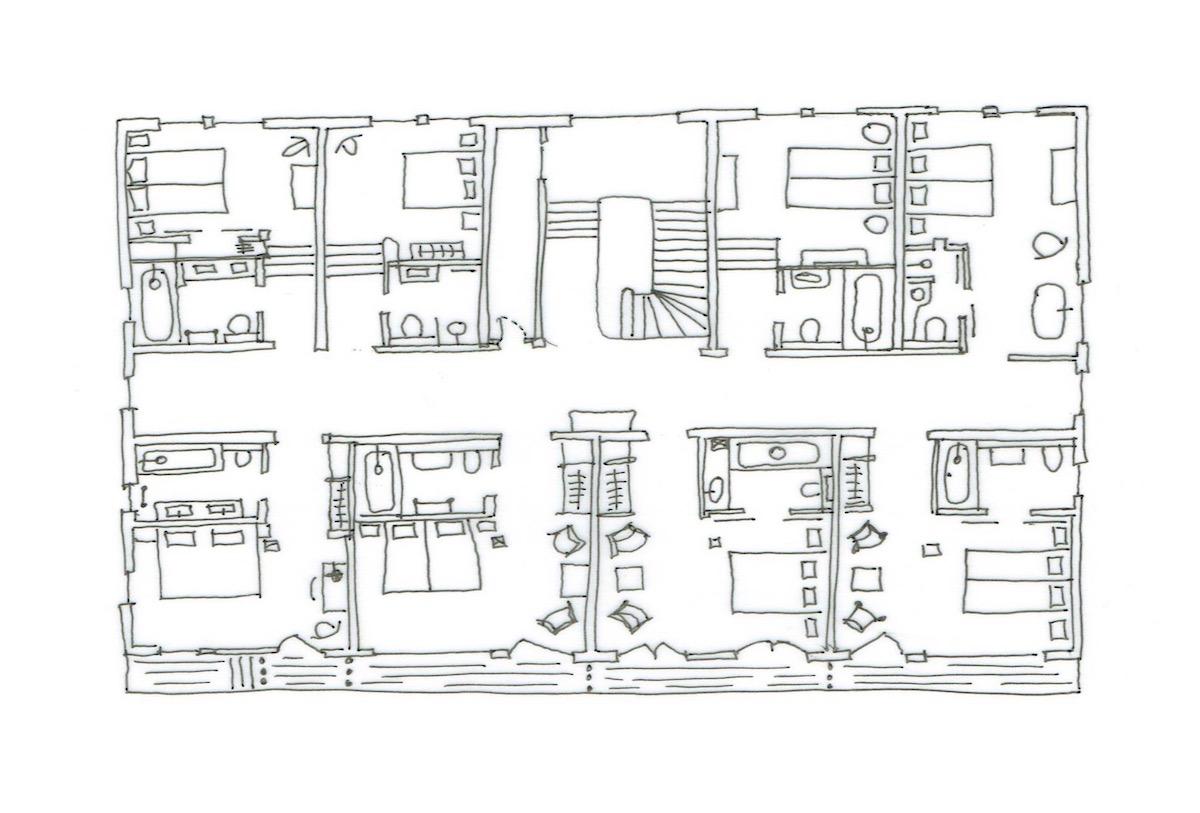 Ferme St Christophe Samoens Floor Plan 2
