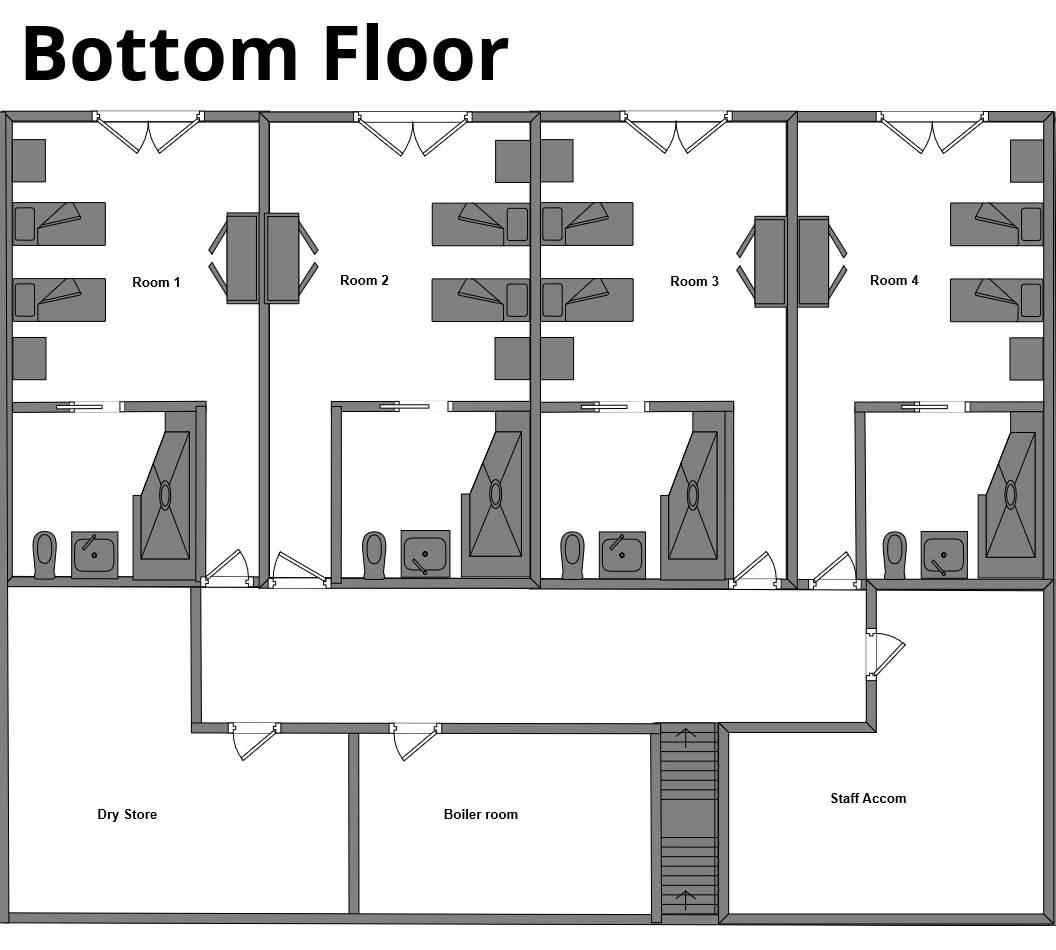 Chalet Flocon La Plagne Floor Plan 2