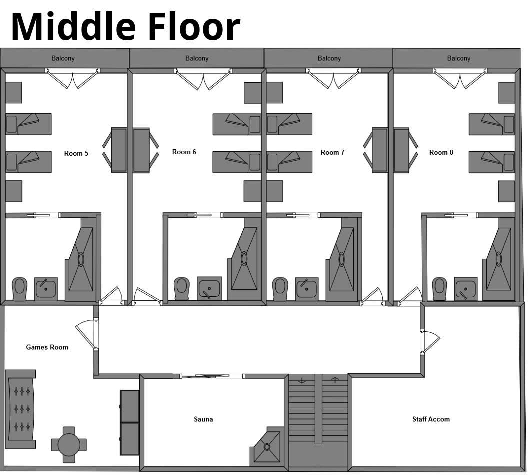 Chalet Flocon La Plagne Floor Plan 3