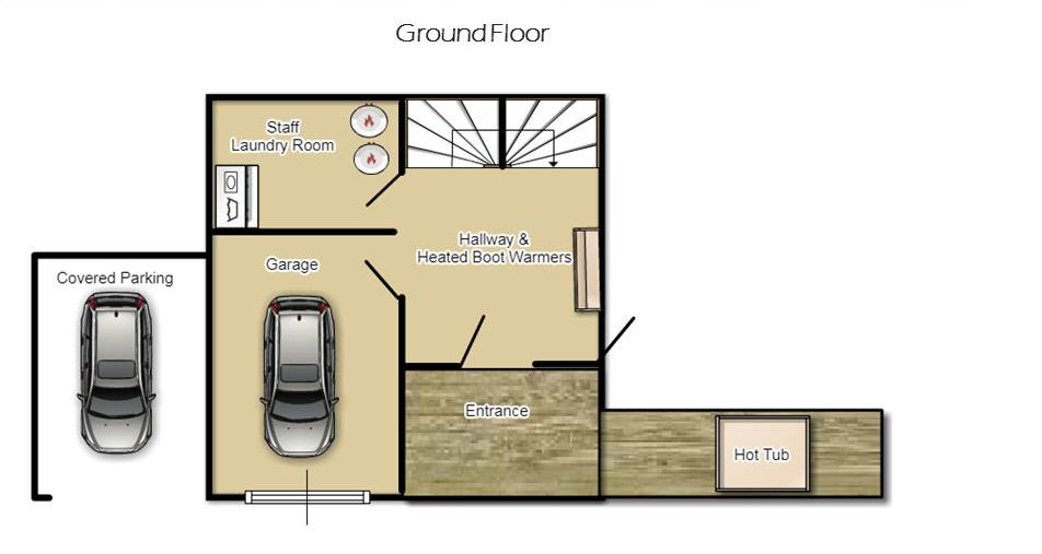 The Chalet Chatel Floor Plan 1
