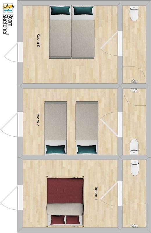 Chalet Garibaldi Bansko Floor Plan 3
