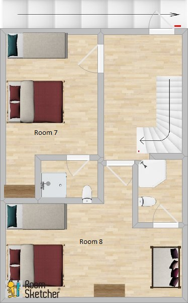 Chalet Garibaldi Bansko Floor Plan 2