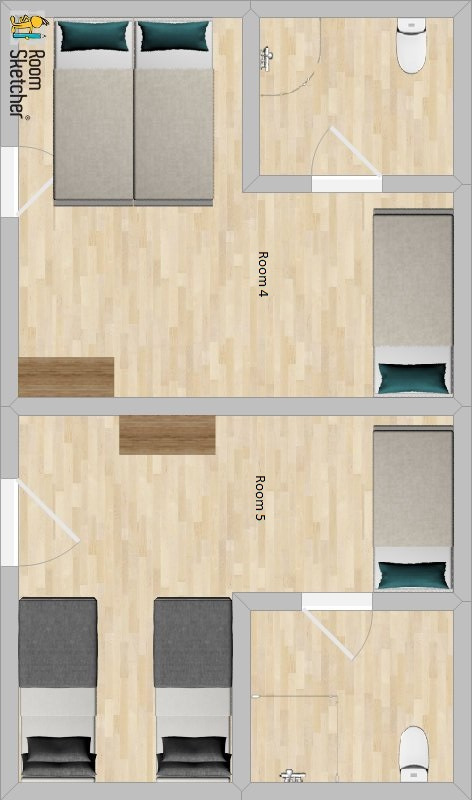 Chalet Garibaldi Bansko Floor Plan 1