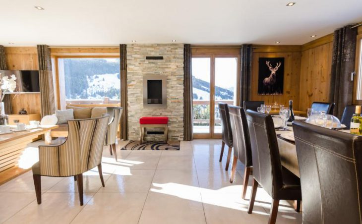 Golden Eagle, Courchevel, Chalet Interior