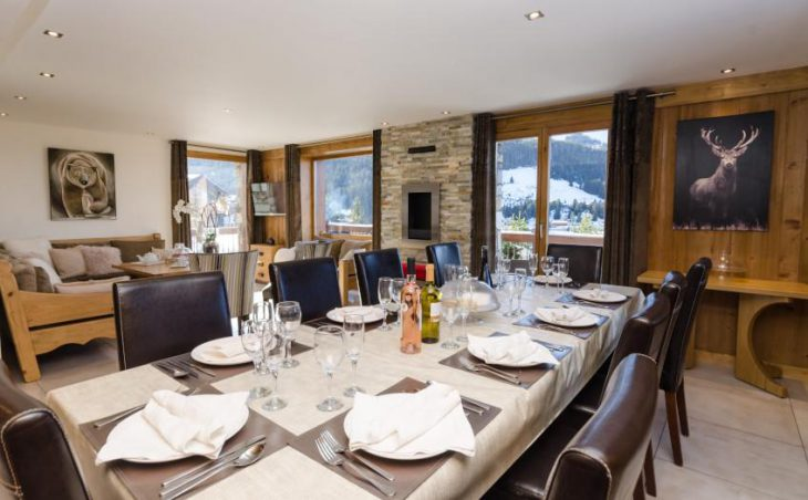 Golden Eagle, Courchevel, Dining Room