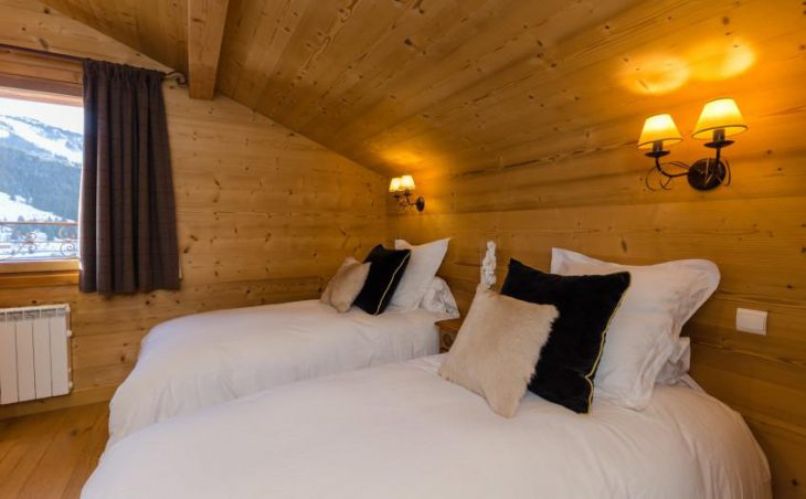 Golden Eagle, Courchevel, Twin Room