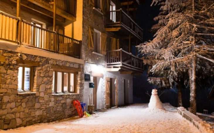 Hattiers Apartments, Tignes, External