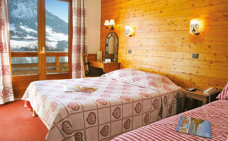 Hotel Chalet du Prariand, Megeve, Twin Bedroom