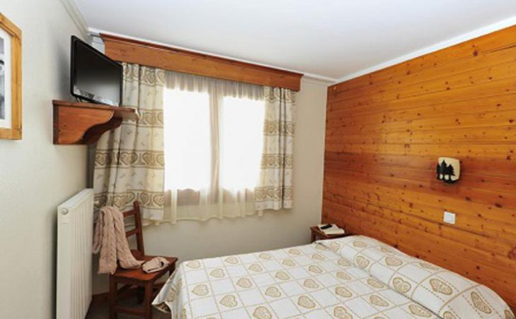 Hotel Chalet du Prariand, Megeve, Double Bedroom