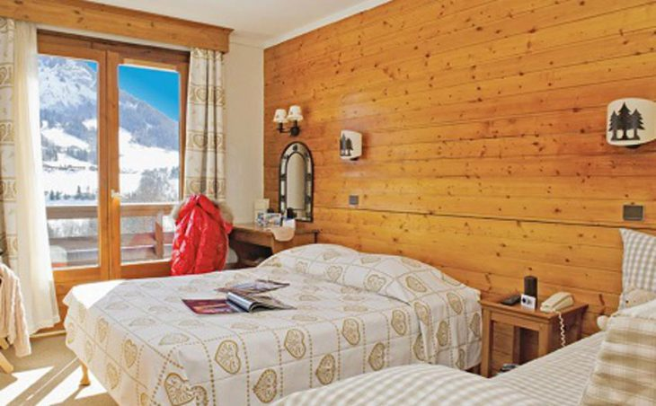 Hotel Chalet du Prariand, Megeve, Twin Bedroom 2