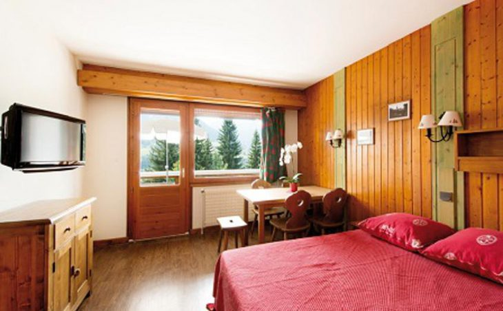 Hotel Chalet du Prariand, Megeve, Double Bedroom 2
