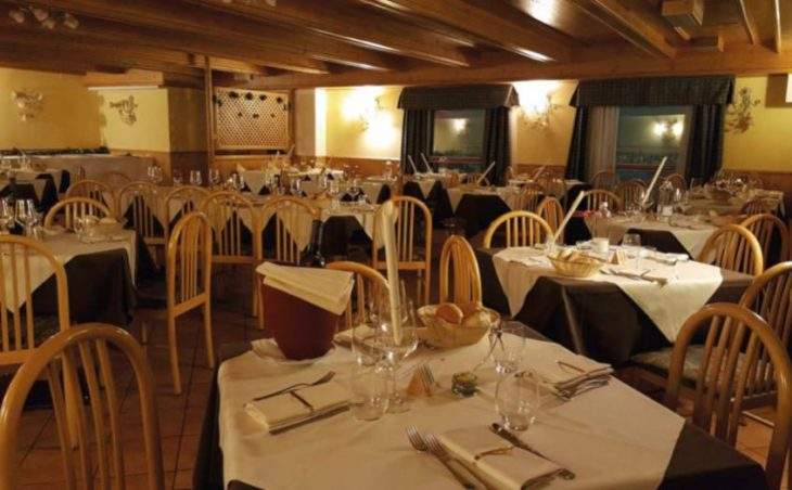 Hotel Cielo Blu, Passo Tonale, Dining Room