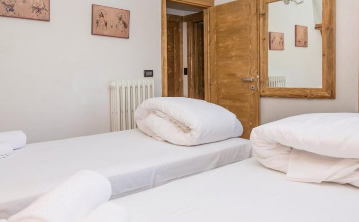 Hotel Clotes, Sauze d'Oulx, Twin Bedroom