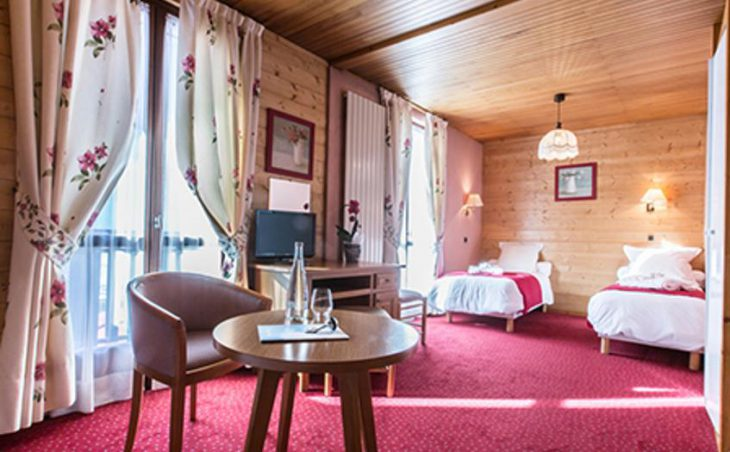 Hotel Le Tremplin, Morzine, Bedroom 4