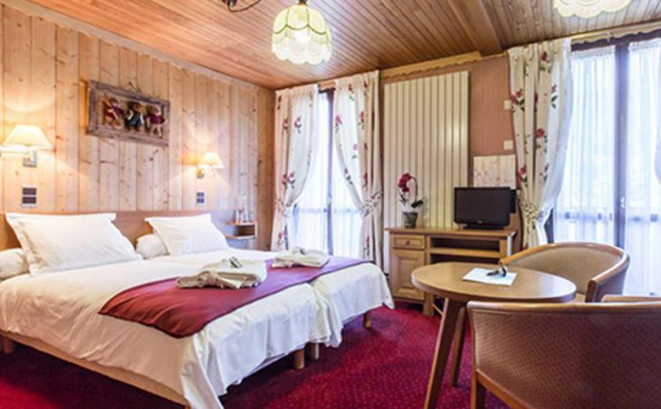 Hotel Le Tremplin, Morzine, Bedroom