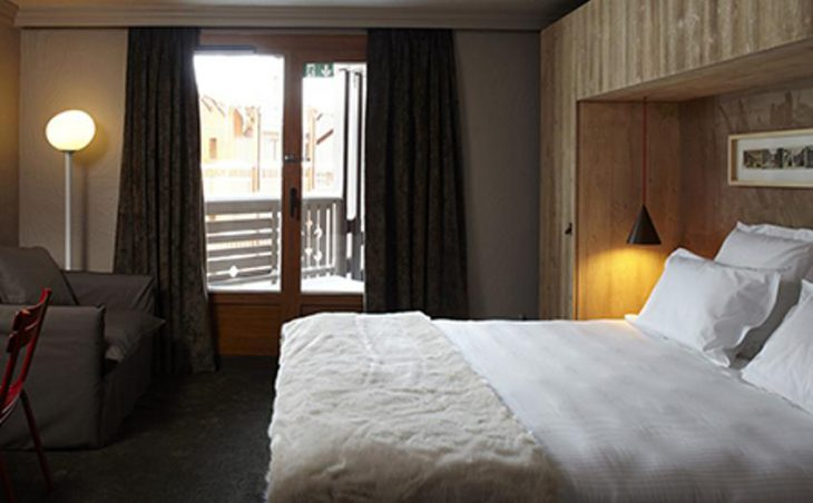 Hotel Le Val Thorens, Val Thorens, Double Bedroom 2