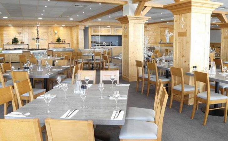 Hotel Les Arolles, Val Thorens, Dining Room