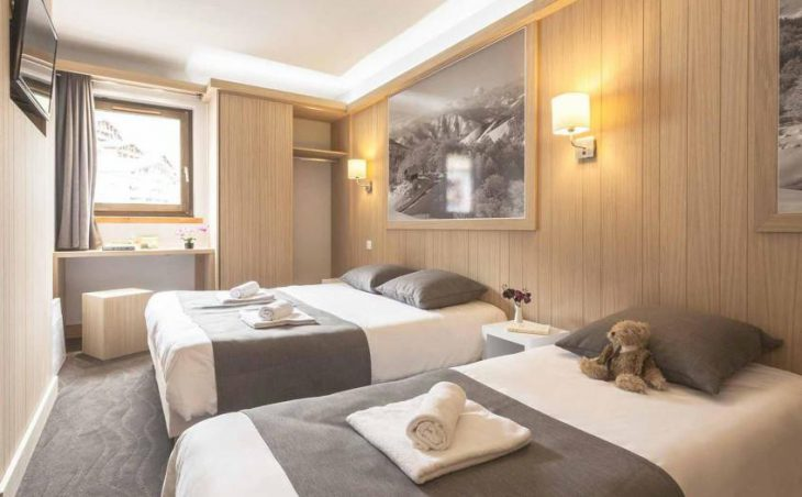 Hotel Les Arolles, Val Thorens, Twin Room