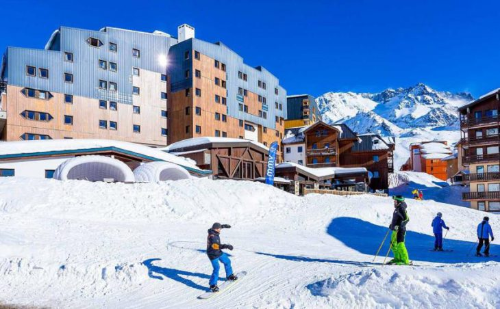 Hotel Les Arolles, Val Thorens, External Hotel