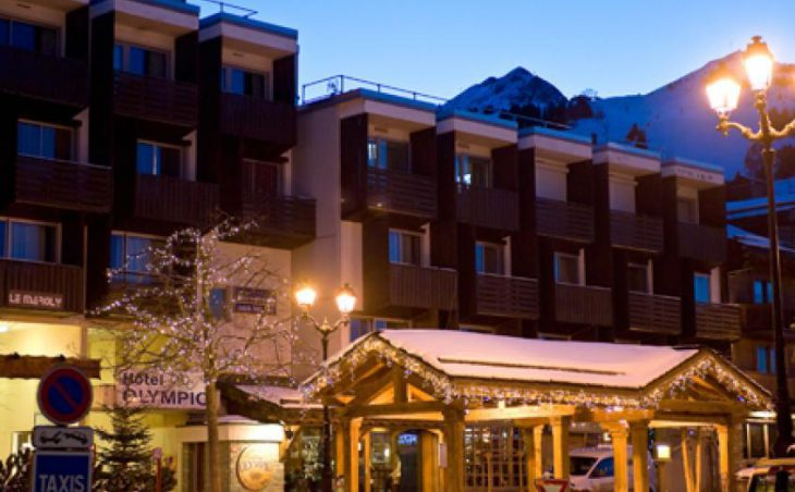 Hotel Olympic, Courchevel, External