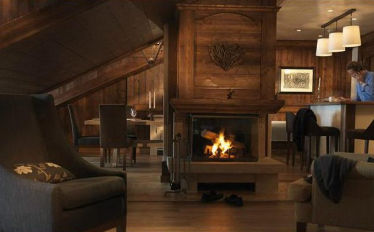 Hotel Portetta (double valley room) in Courchevel , France image 5