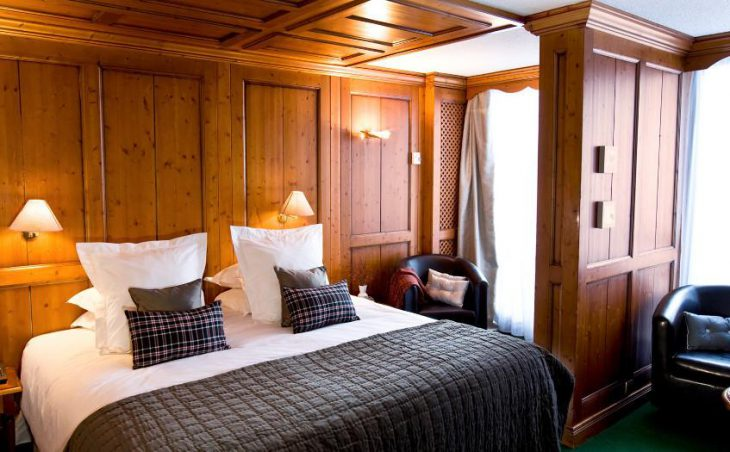 Hotel Royal Rochebrune, Megeve, Double Bedroom