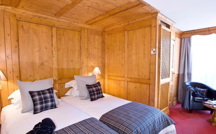 Hotel Royal Rochebrune, Megeve, Double Bedroom 2