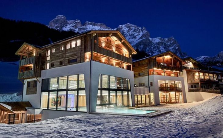 Hotel Stores, San Cassiano, External