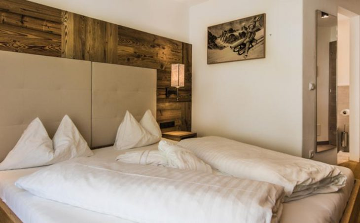 Hotel Stores, San Cassiano, Double Bedroom