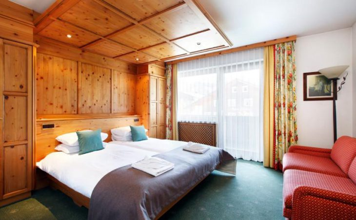 Hotel Theodul, Lech, Double Bedroom 2