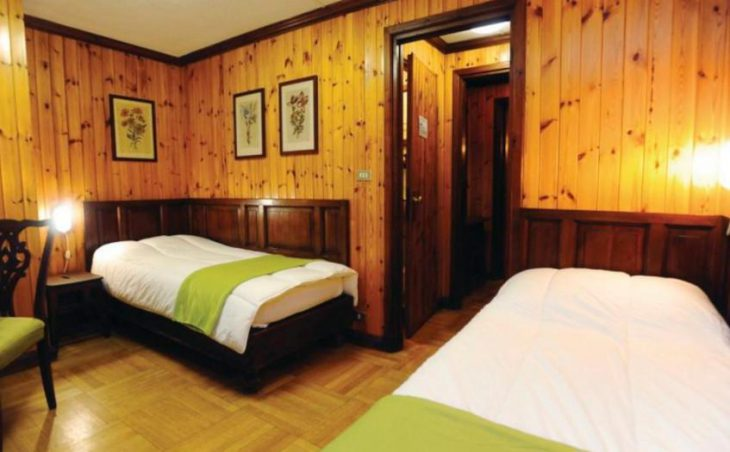 Hotel Des Guides, Cervinia, Bedroom