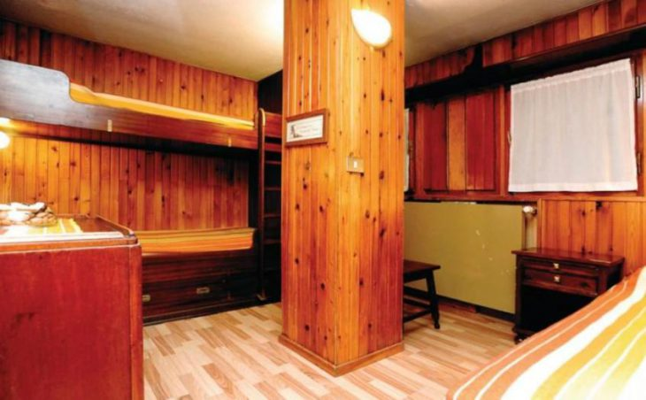Hotel Des Guides, Cervinia, Bunk Bedroom
