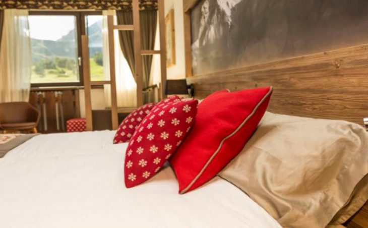 Hotel Du Col, Sestriere, Double Bed