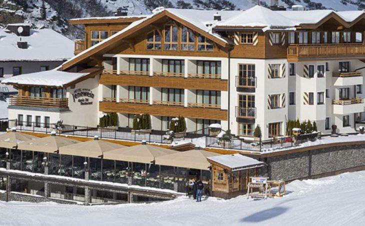 Hotel Jenewein, Obergurgl, External