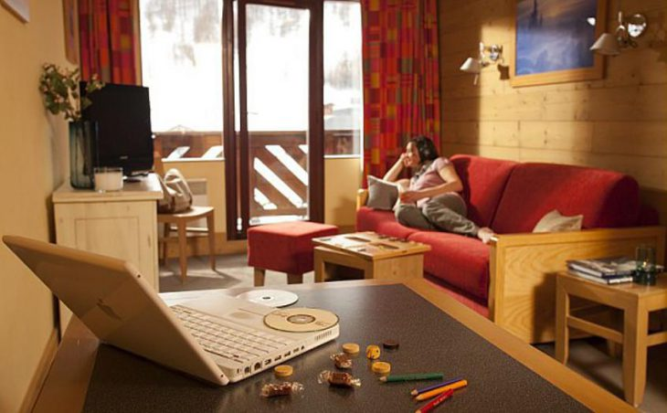 Residence Les Balcons de Bellevarde, Val dIsere, Lounge