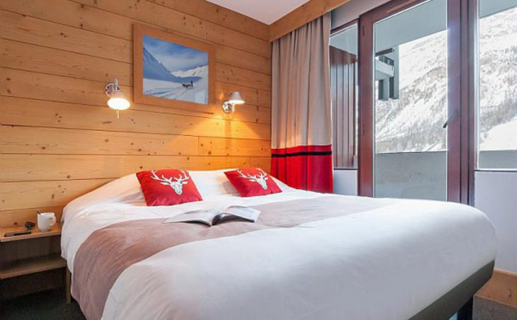 Residence Les Balcons de Bellevarde, Val dIsere, Double Bedroom 3