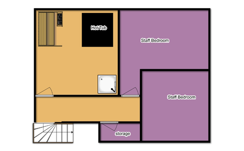 Chalet Isabelle Tignes Floor Plan 2