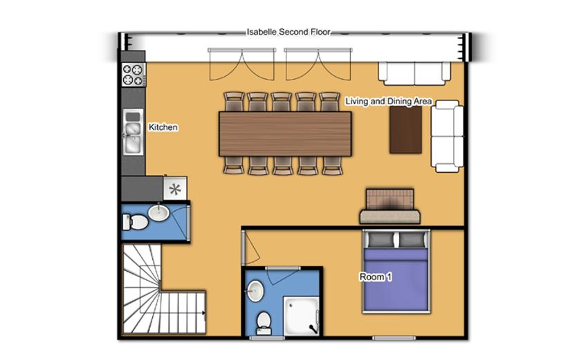 Chalet Isabelle Tignes Floor Plan 3