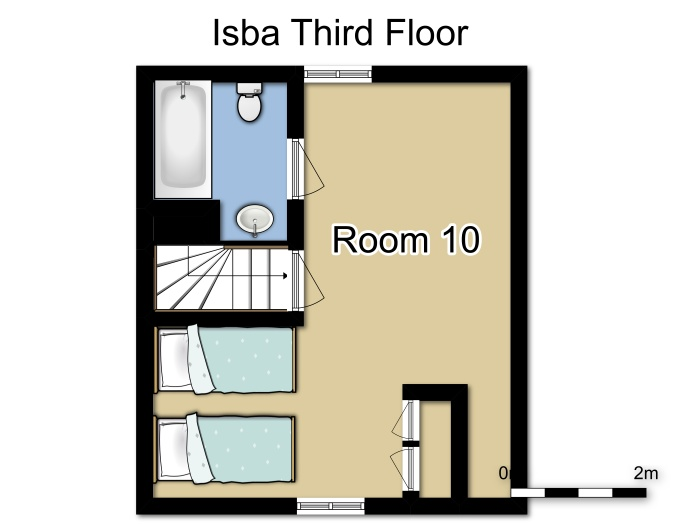 Chalet Isba Meribel Floor Plan 4
