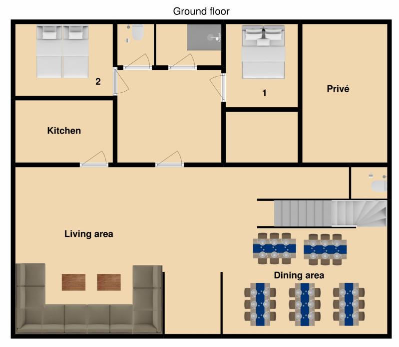 Chalet Krista Kitzbuhel Floor Plan 2