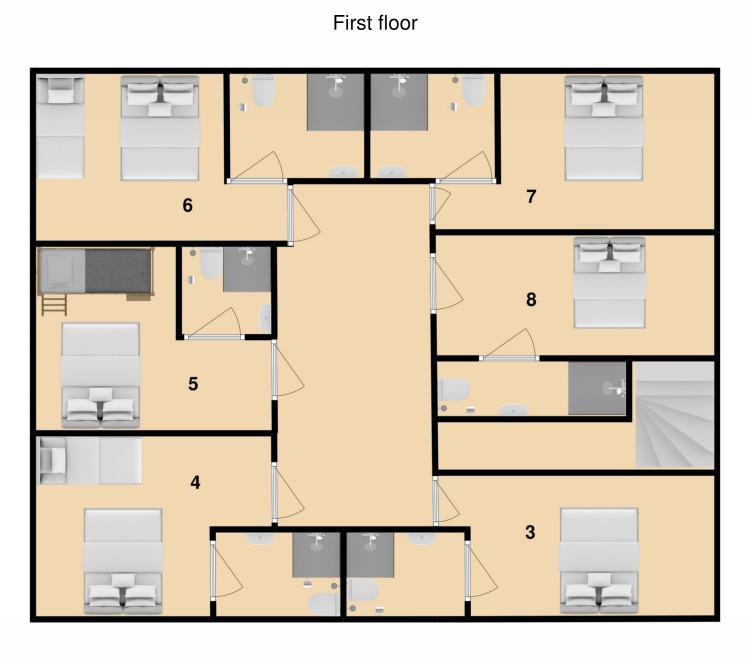 Chalet Krista Kitzbuhel Floor Plan 3