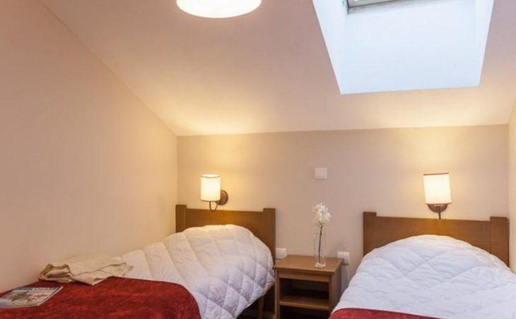 L'Albane, Vars, Twin Bedroom 2