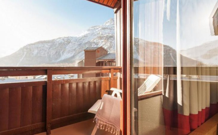 Residence La Daille, Val d'Isere, Balcony