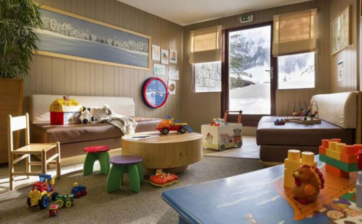 Residence La Daille, Val d'Isere, Children's Play Area